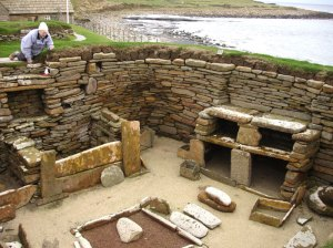 Skara Brae Neolithic Village House 1