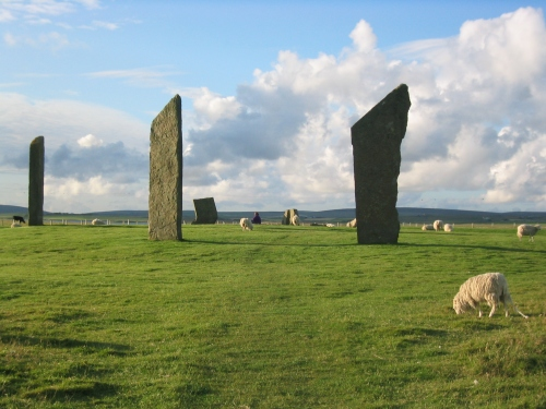 Stenness Standing Stones in Neolithic Orkney