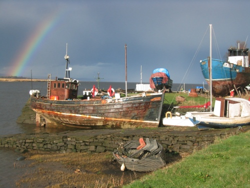 After the Storm - Fishing Boats on the Tay