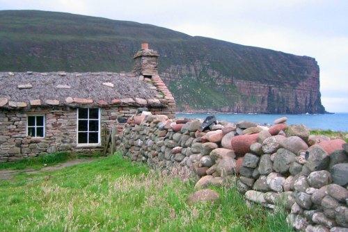 Rackwick Bothy at Burnside, Hoy, Orkney Islands