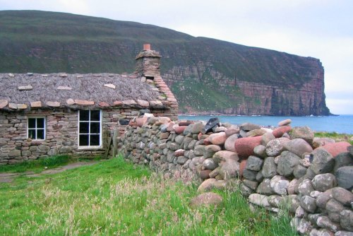 "Rackwick Bothy and Camping at ""Burnside"", Hoy, Orkney"