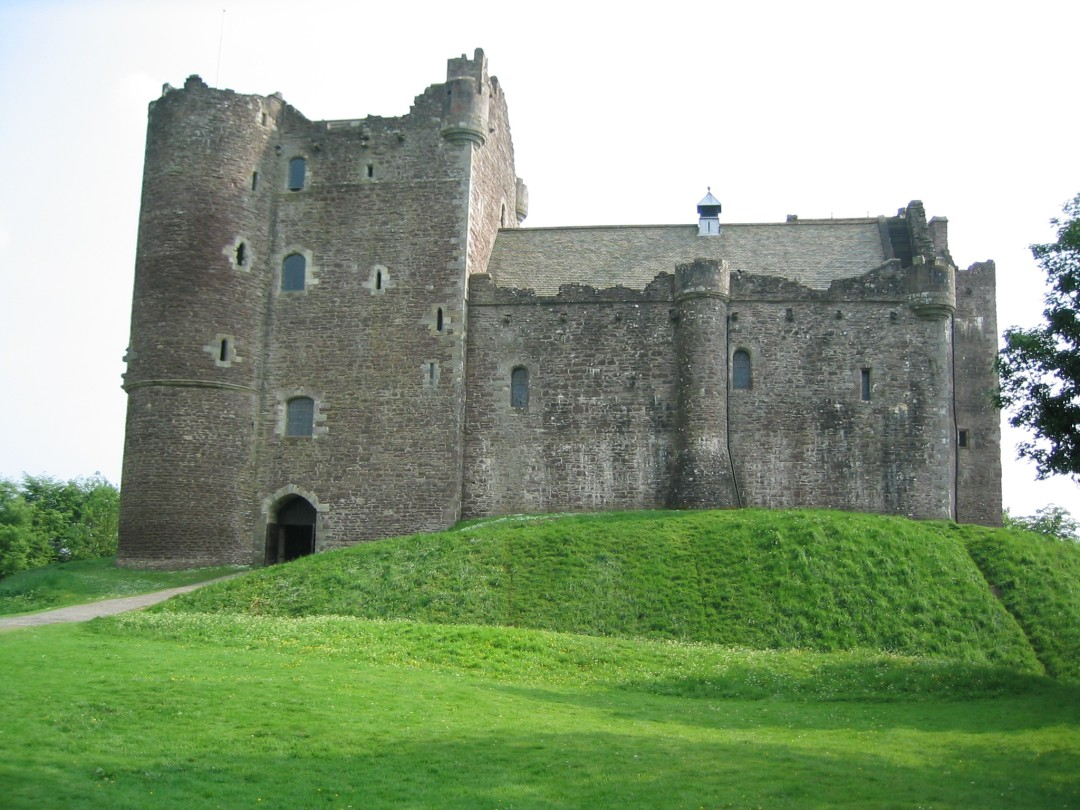 Doune Castle - of Holy Grail fame