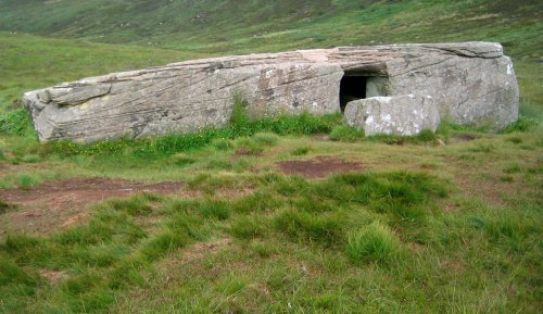 """Dwarfie Stane"" - Rock Cut Chamber on Hoy, Orkney"