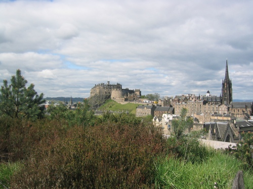 Edinburgh Castle and City View