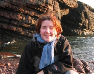 Rachel discovering Orkney