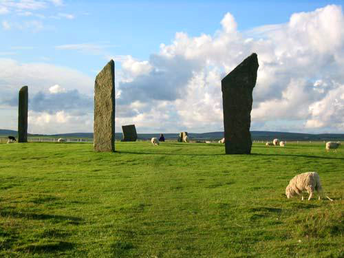 Stenness Standing Stones - Over 5,000 years old
