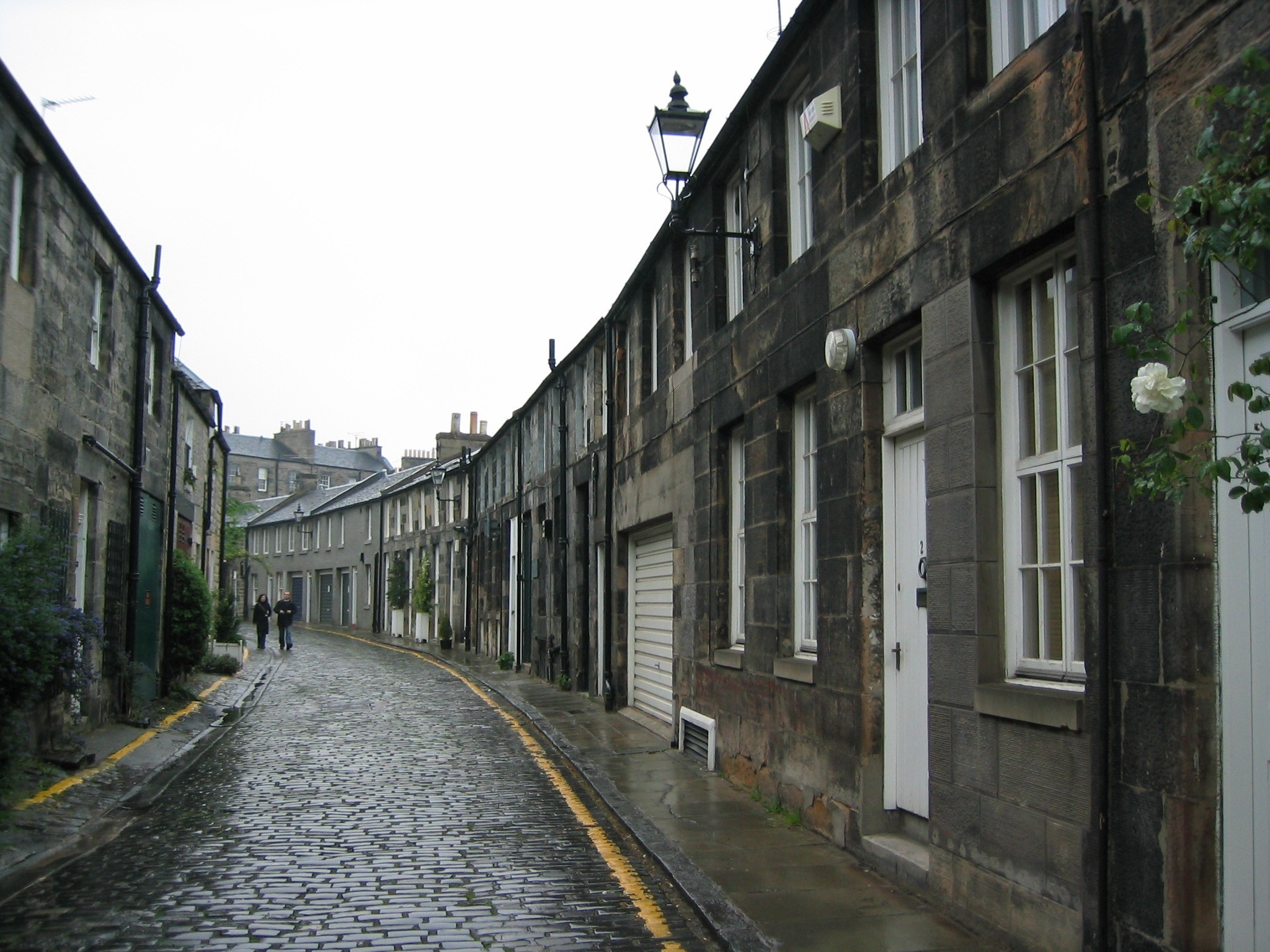 Edinburgh Streets - in Stockbridge