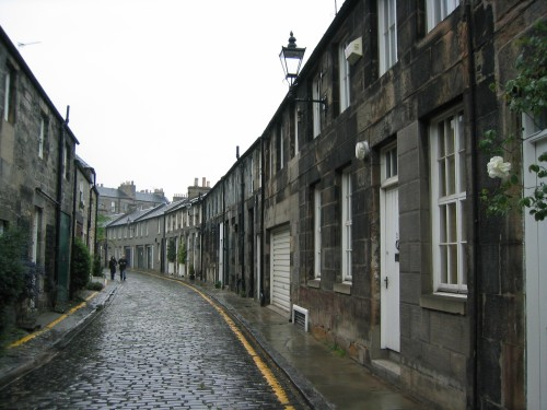 Edinburgh Streets - in Stockbridge